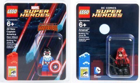 2015 San Diego Comic Con - Exclusive Minifigures