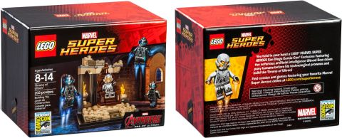 2015 San Diego Comic-Con LEGO Marvel Super Heroex Exclusive Set