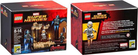 2015 San Diego Comic-Con LEGO Marvel Super Heroex Exclusive Set