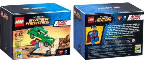 2015 San Diego Comic-Con LEGO Super Heroes Exclusive Set