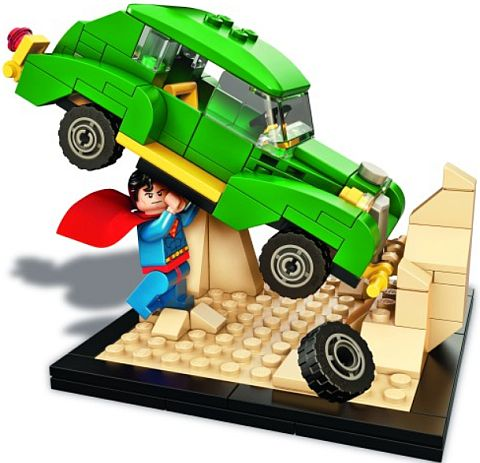 2015 San Diego Comic-Con LEGO Superman