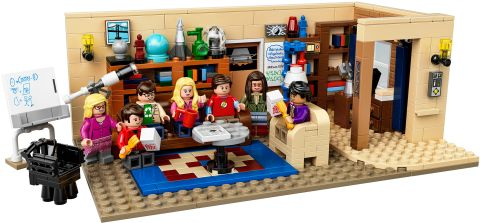 #21302 LEGO Ideas Big Bang Theory Details