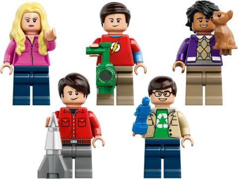 #21302 LEGO Ideas Big Bang Theory Minifigures