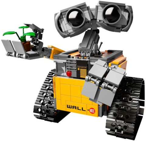 #21303 LEGO Ideas WALL-E Details