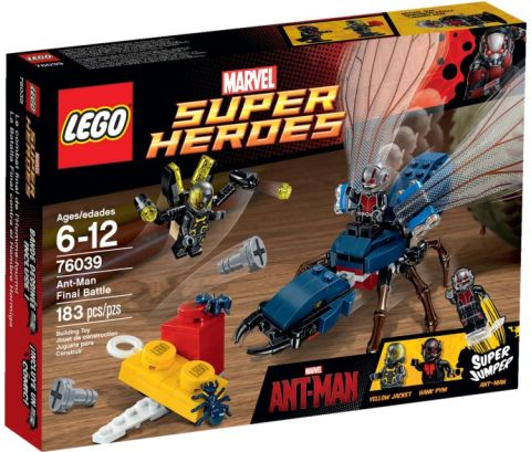 #76039 LEGO Marvel Super Heroes Ant-Man Review