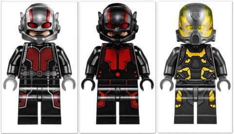 #76039 LEGO Marvel Super Heroes Ant-Man Set Minifigures