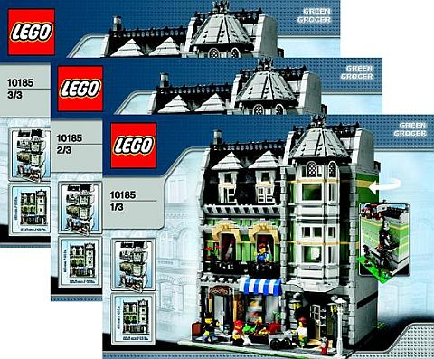Building Retired LEGO Sets - BrickLink Instructions