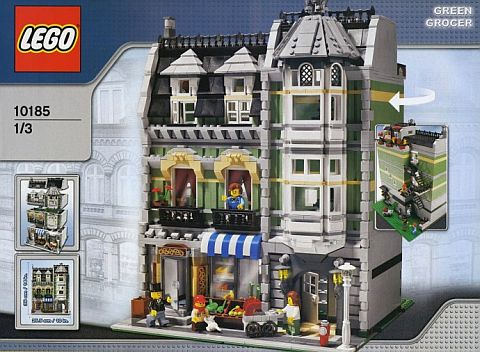 Building Retired LEGO Sets - Green Grocer