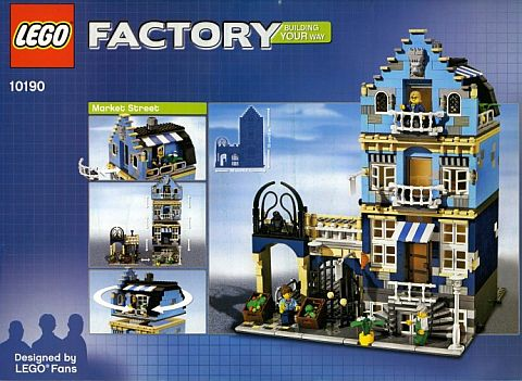 Building Retired LEGO Sets - Market Street