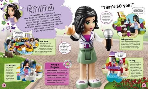 LEGO Books by DK Publising LEGO Friends Adventure Guide