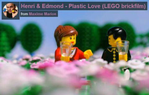 LEGO BrickFilm Henri and Edmond Plastic Love