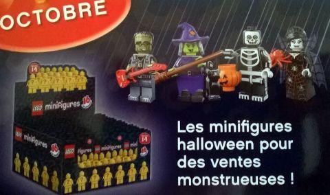 LEGO Collectible Minifigures Series 14 Halloween