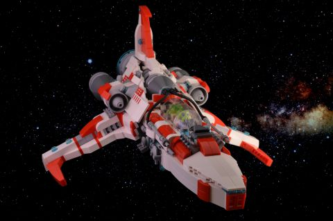 LEGO Spaceship by Paddy BrickSplitter