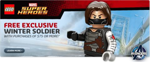 Shop LEGO Marvel Free Winter Soldier