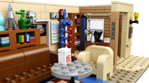 #21302 LEGO Ideas Big Bang Theory Book Shelves