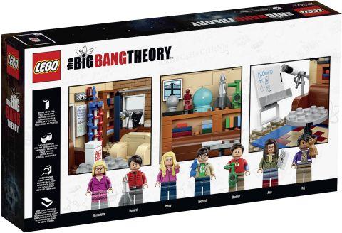 #21302 LEGO Ideas Big Bang Theory Box Back