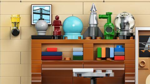 #21302 LEGO Ideas Big Bang Theory Building Details