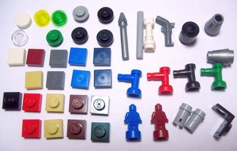 #21302 LEGO Ideas Big Bang Theory Extra Parts
