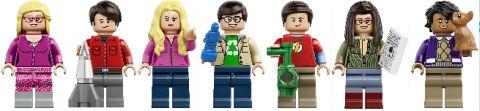 #21302 LEGO Ideas Big Bang Theory Minifigs
