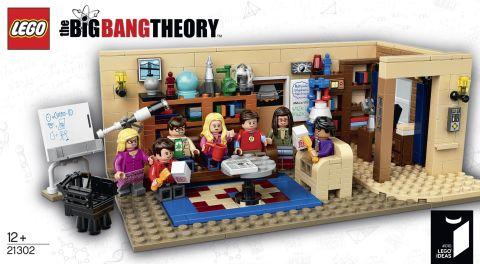 #21302 LEGO Ideas Big Bang Theory Review