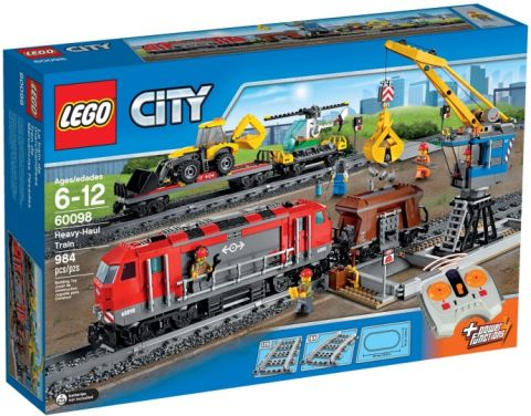 #60098 LEGO City Train Box