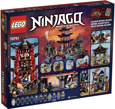 #70751 LEGO Ninjago Temple of Airjitzu Box 2