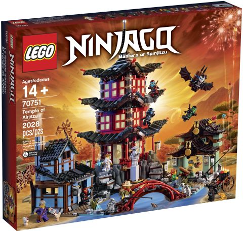 #70751 LEGO Ninjago Temple of Airjitzu Box
