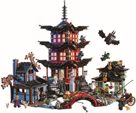 #70751 LEGO Ninjago Temple of Airjitzu Details 2