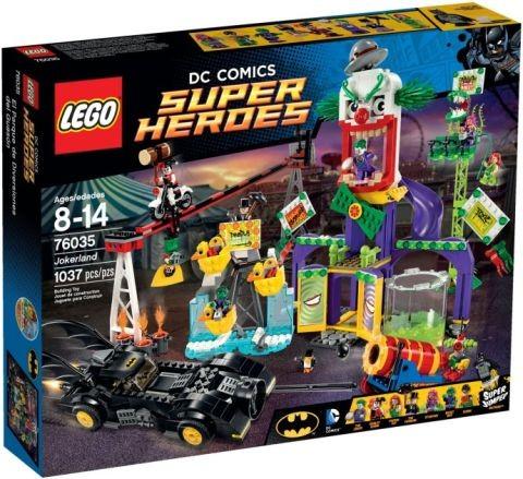#76035 LEGO Super Heroes Jokerland