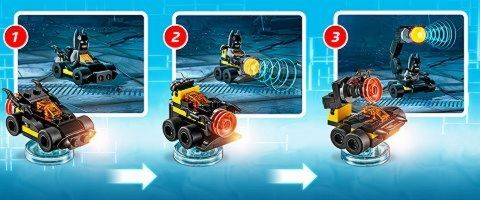 LEGO Dimensions Alternate Builds