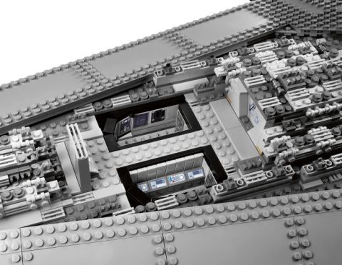 LEGO Greebling - #10211 LEGO Star Wars Star Destroyer