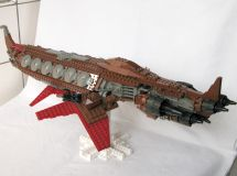 LEGO Greebling - pieces-plates-longship
