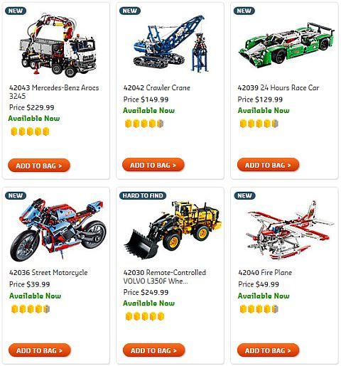 Shop 2015 LEGO Technic