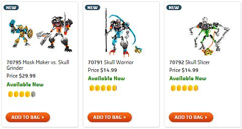 Shop LEGO Bionicle