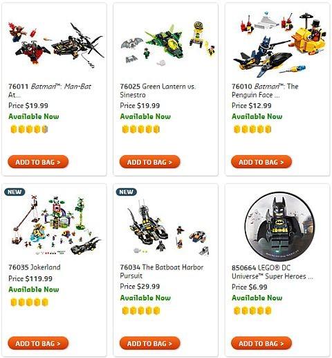 Shop LEGO DC Super Heroes