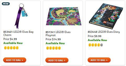 Shop LEGO Elves Accessories