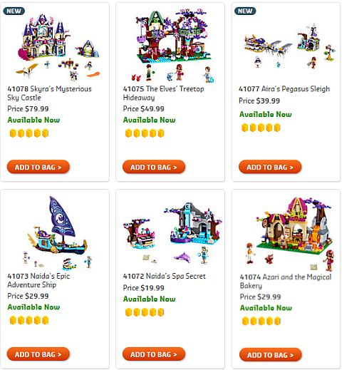 Shop LEGO Elves Sets