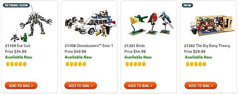 Shop LEGO Ideas Big Bang