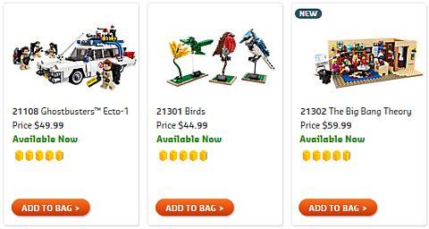 Shop LEGO Ideas Sets