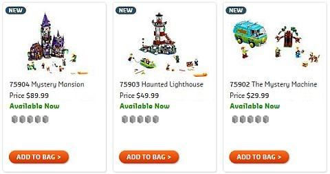 Shop LEGO Scooby-Doo