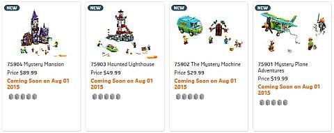 Shop LEGO Scooby-Doo Sets