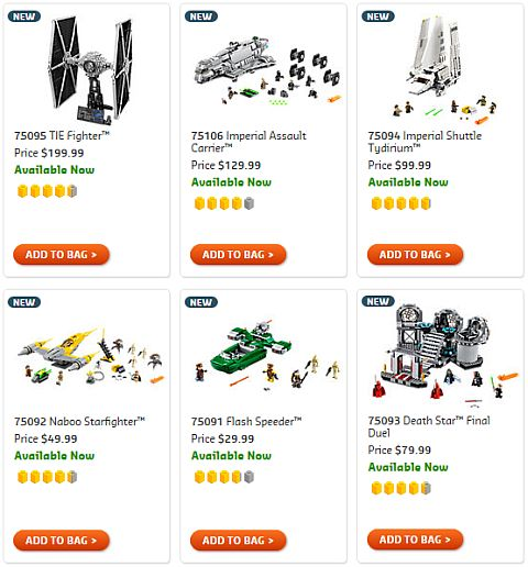 Shop LEGO Star Wars 2015 Sets