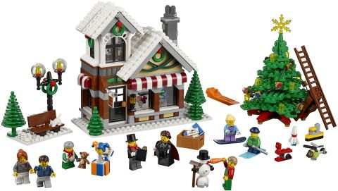 #10249 LEGO Winter Village Toy Shop Details
