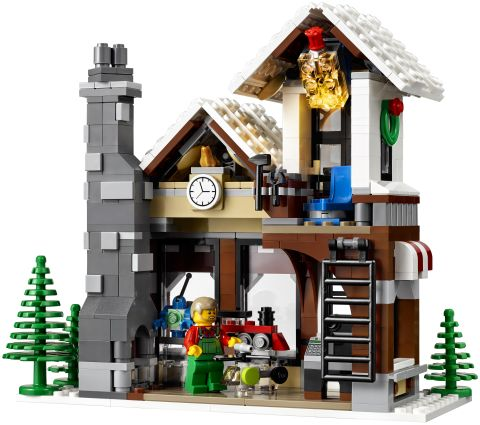 #10249 LEGO Winter Village Toy Shop Inside