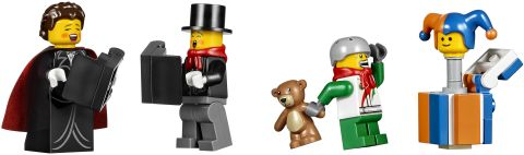 #10249 LEGO Winter Village Toy Shop Minifigures