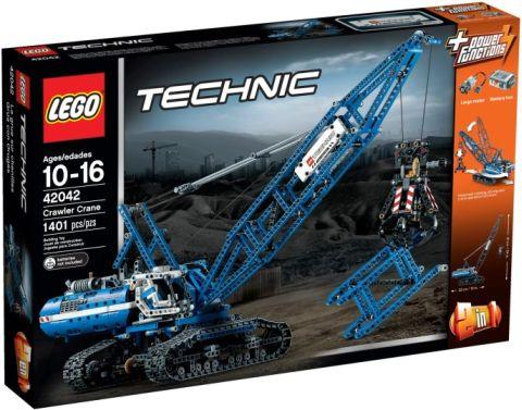 #42042 LEGO Technic Crawler Crane Box