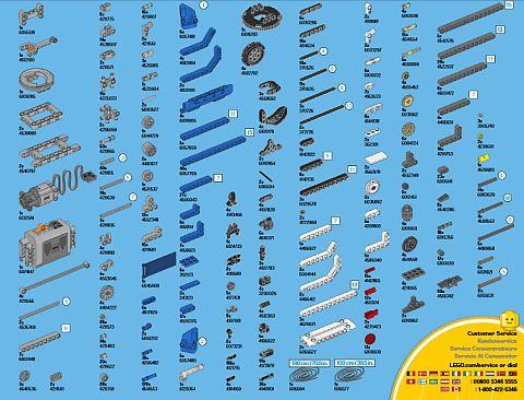 #42042 LEGO Technic Parts