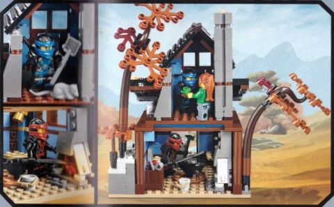 #70751 LEGO Ninjago Blacksmith