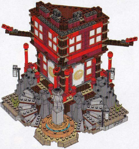 #70751 LEGO Ninjago Statue