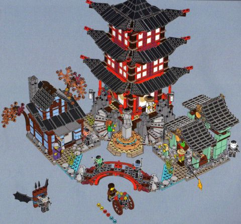 #70751 LEGO Ninjago Temple Review 2